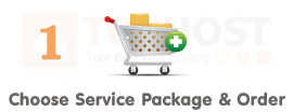 Step 1. Choose Service Package & Order