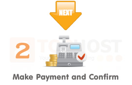 Step 2. Make Payment and Confirm