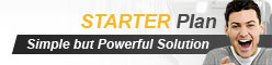 Starter Plan - Simple but Powerful Web Hosting Solution